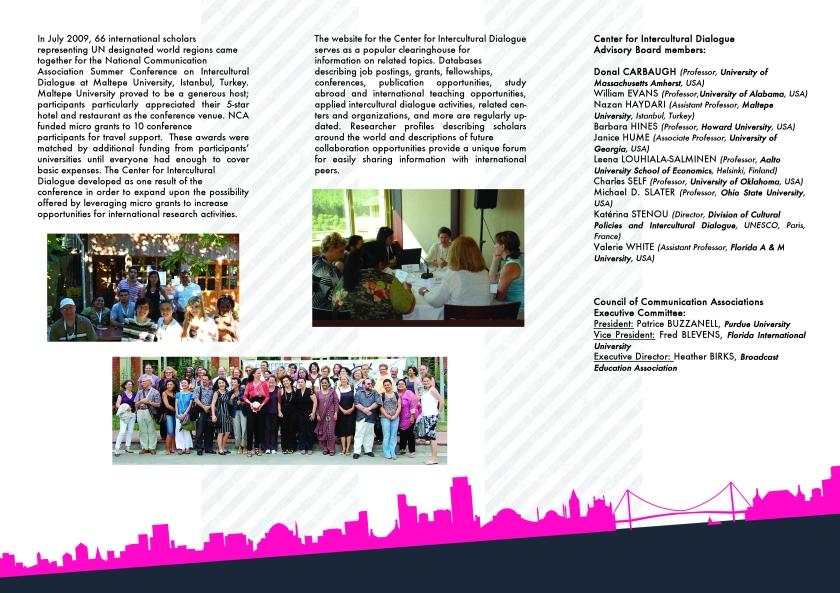Center brochure - back