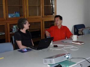Prof Leeds-Hurwitz, Prof Shi Xu