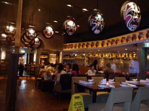 Mask restaurant