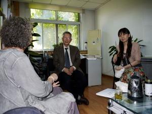 Prof Leeds-Hurwitz, Prof Guan, An Xiaojing