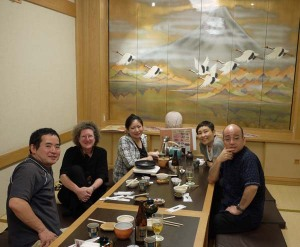 Faculty dinner at U Ryukyus