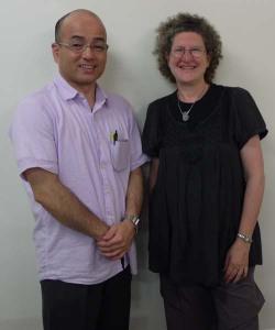 Prof Miyahira, Prof Leeds-Hurwitz