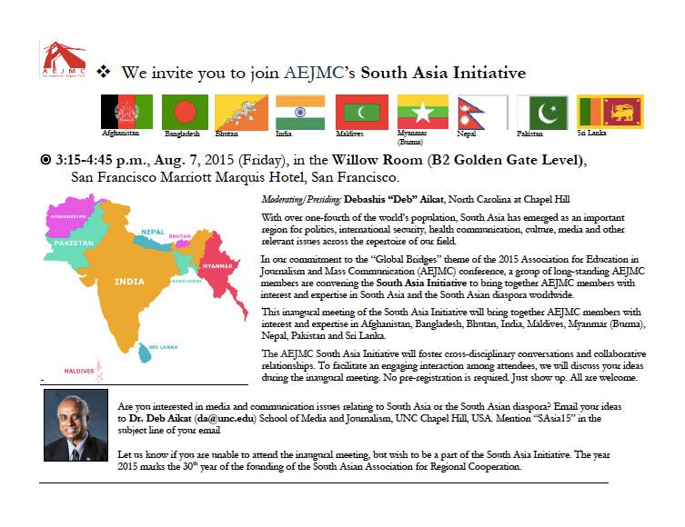 South Asia Initiative AEJMC