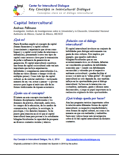 KC6 intercultural capital_Spanish