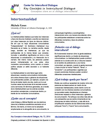 KC72 Intertextuality_Spanish