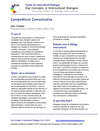 KC9 Communicative Competence_Portuguese