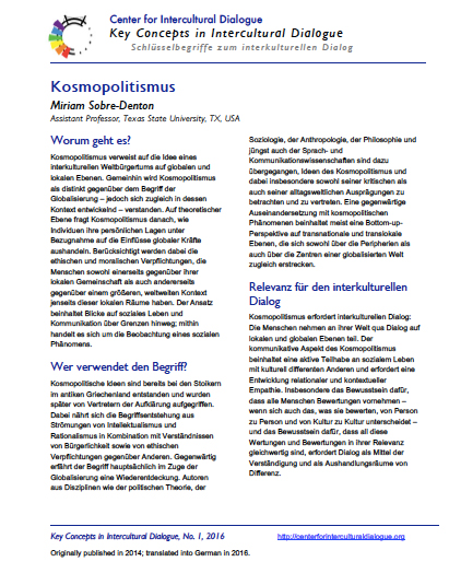 KC2 Cosmopolitanism_German