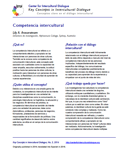 KC3 Intercultural Competence_Spanish