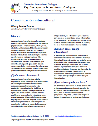 KC5 Intercultural Communication_Spanish