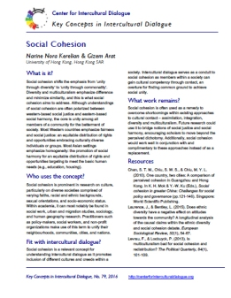 KC79 Social Cohesion