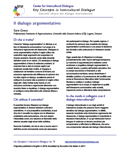 KC73 Argumentative Dialogue_Italian