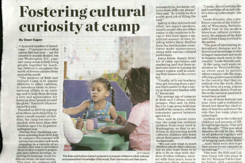 Fostering Cultural Diversity at Camp