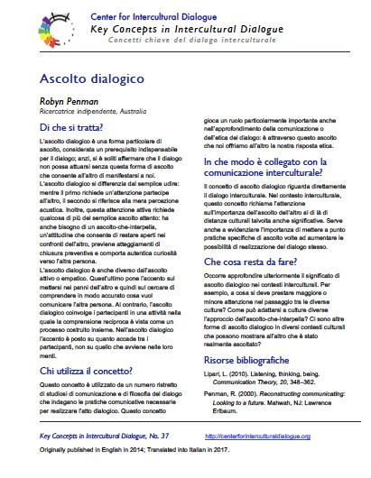 KC37 Dialogic Listening_Italian