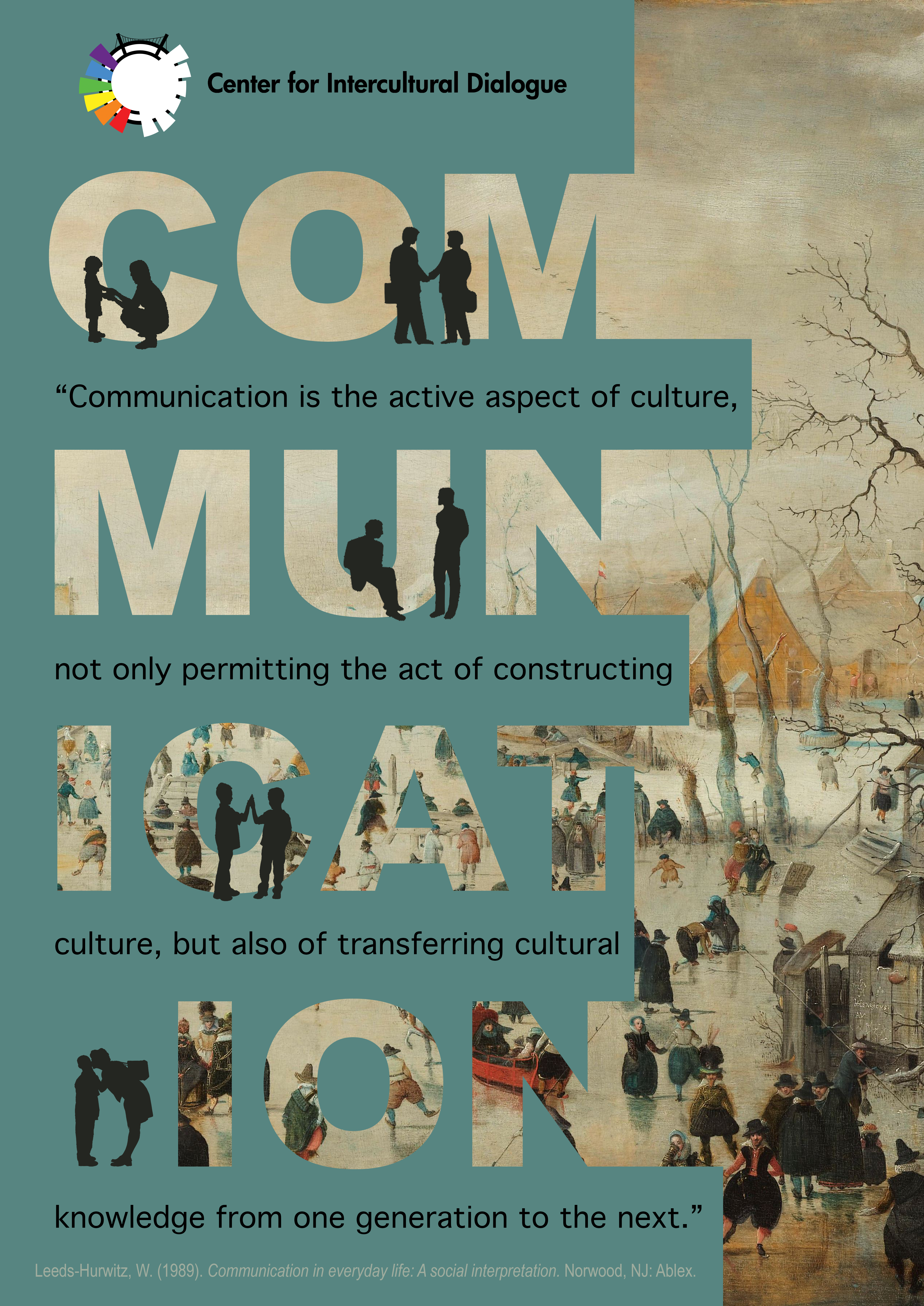 Poster design definition - Center For Intercultural Dialogue 2017 Communication As Culture Definition Cid Posters 5 Available From