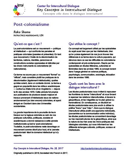 KC28 Postcolonialism_French
