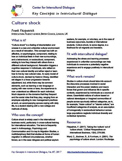 KC87 Culture shock