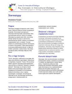 KC55 Stereotypes_Polish