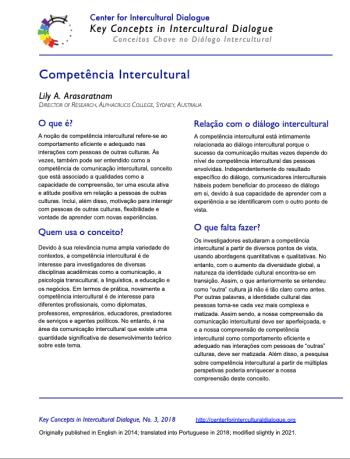 KC3 Intercultural Competence_Portuguese