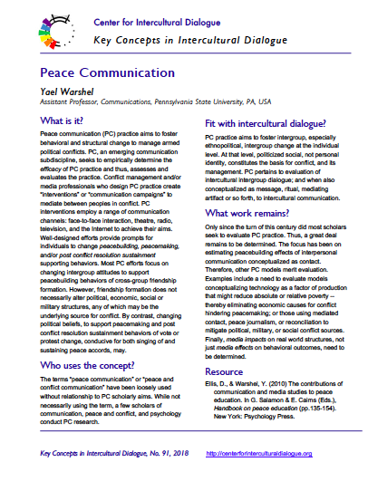 KC91 Peace Communication
