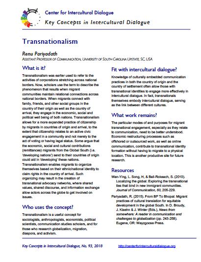 KC93 Transnationalism