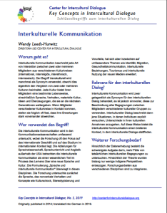KC5 Intercultural Communication_German