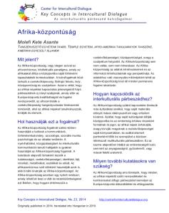 KC23 Afrocentricity_Hungarian