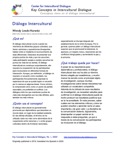 KC1 Intercultural Dialogue_Spanish