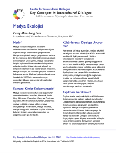 KC35 Media Ecology_Turkish