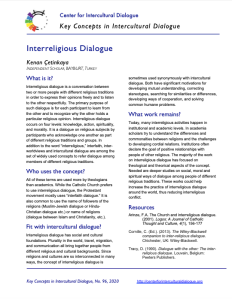 KC96 Interreligious Dialogue