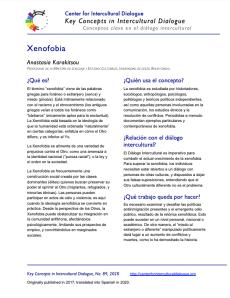 KC89 Xenophobia_Spanish