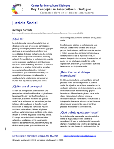 KC68 Social Justice_Spanish