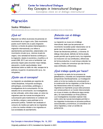 KC16 Migration_Spanish