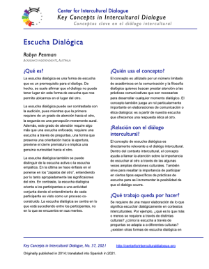 KC37 Dialogic Listening_Spanish