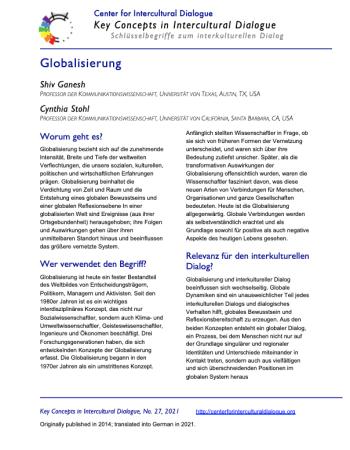 KC27 Globalization_German