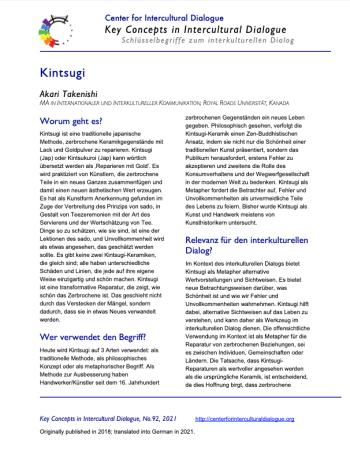 KC92 Kintsugi_German