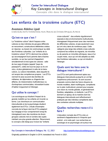 KC12 TCKs_French