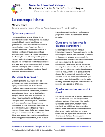 KC2 Cosmopolitanism_French