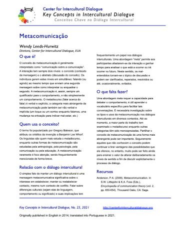 KC25 Metacommunication_Portuguese