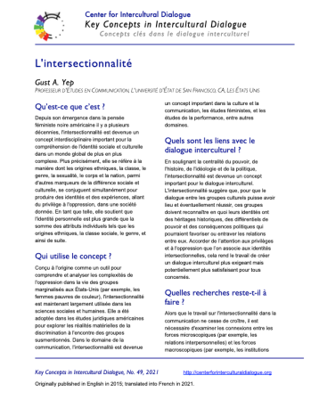 KC49 Intersectionality_French