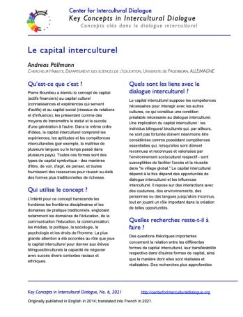 KC6 Intercultural Capital_French
